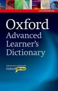 Oxford Advanced Learner s Dictionary + Cd (8ª Ed)