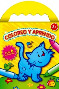 Coloreo y aprendo amarillo