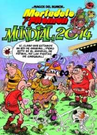 Mundial 2014. Mortadelo y Filemón nº 162