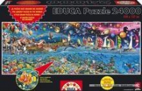 Puzzle 24000 pzs Genuine. Vida, el mayor puzzle