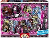 Multi 4 Puzzles Monster High (50-80-100-150)
