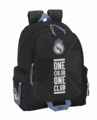 Mochila Day Pack Real Madrid Equipación Negra