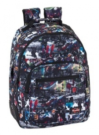 Mochila Adaptable Doble Blackfit 8 Urban