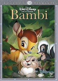 DVD Bambi Disney